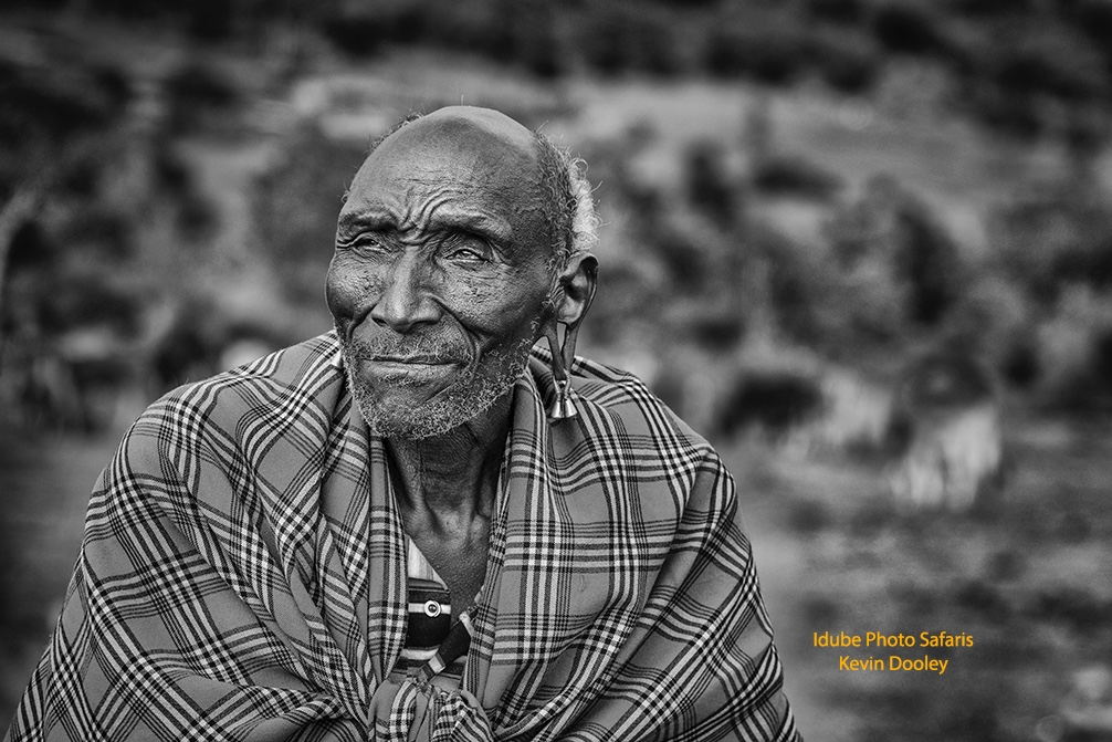 Masai Photos Black and White